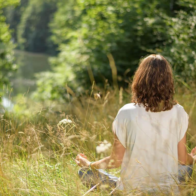 Achtsamkeit-Sitzmeditation