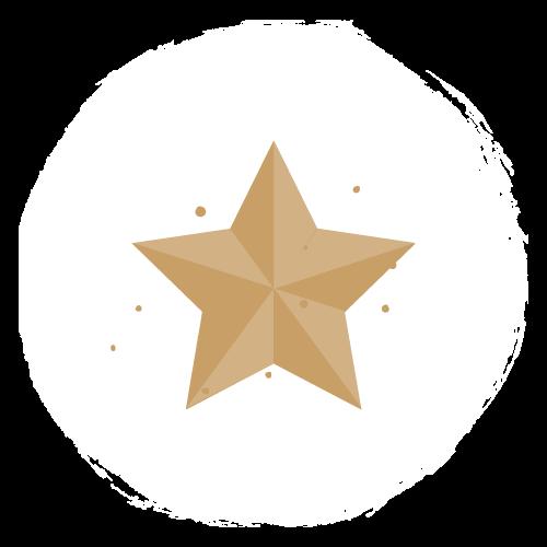 Kleines Bild mit Stern in der Mitte